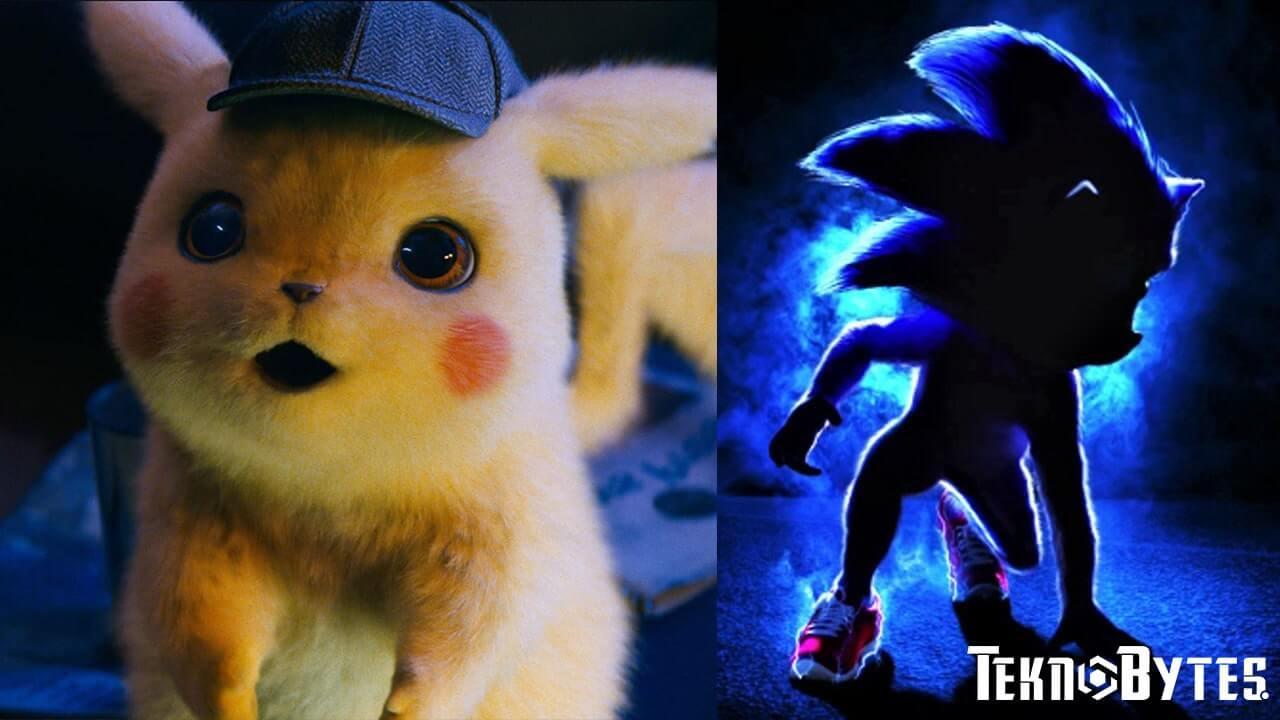 Film Pokemon Detective Pikachu dan Sonic The Hedgehog yang akan dirilis