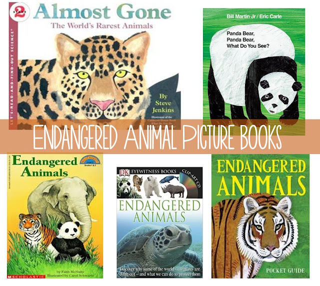 Endangered Animal Picture Books