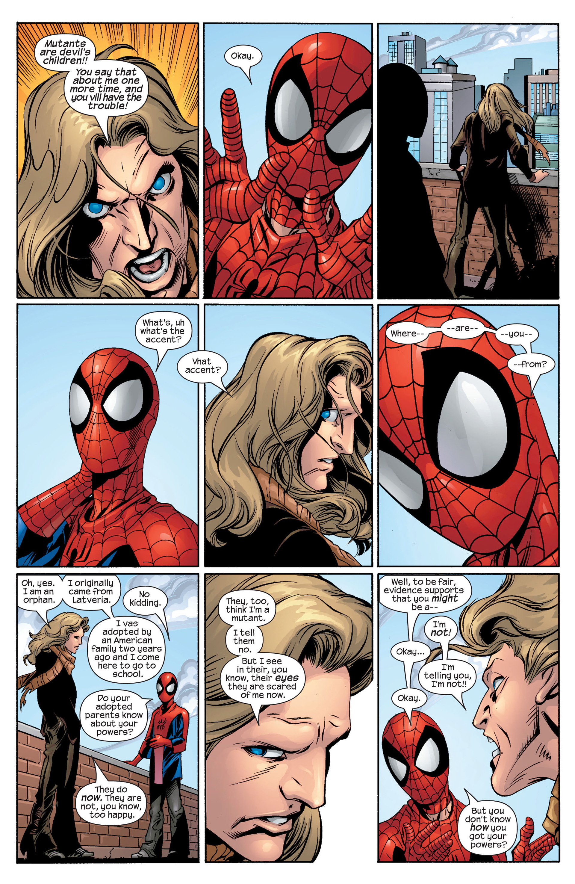 Read online Ultimate Spider-Man (2000) comic -  Issue #42 - 12