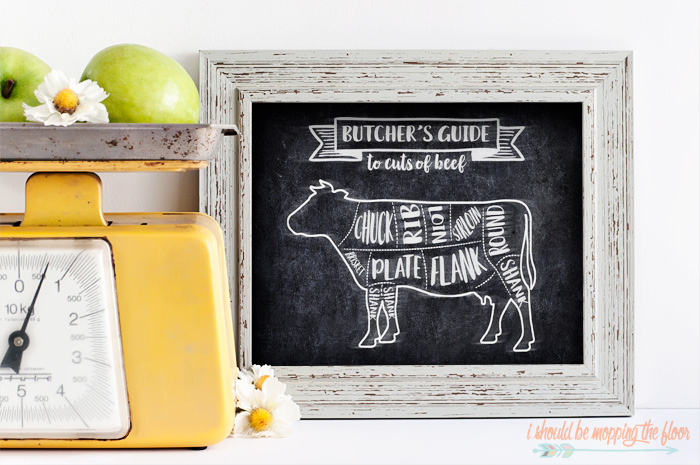 Farmhouse Cow Printable