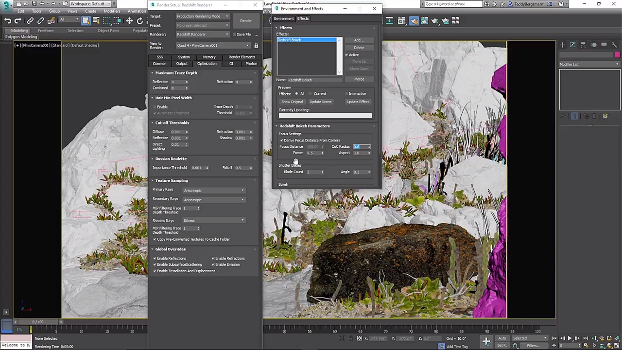 Creating Megascans Park Scenes for VFX In 3dsmax With