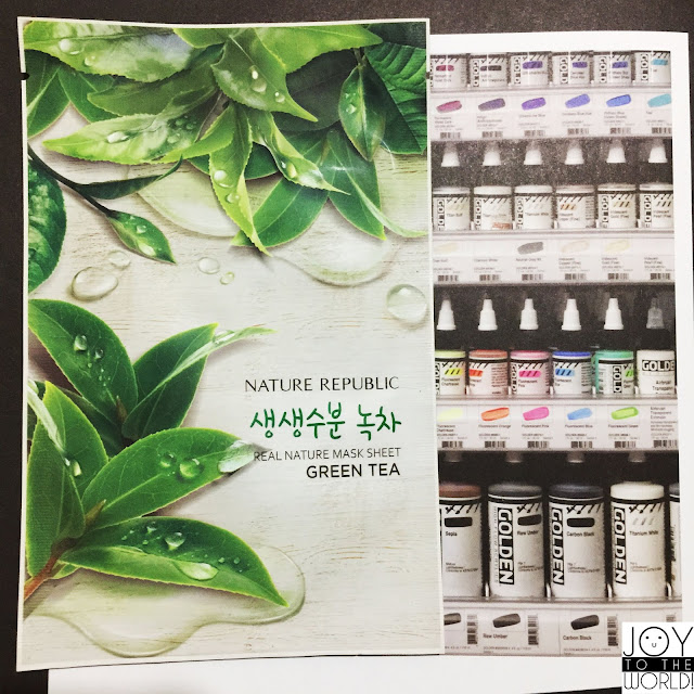 Nature Republic Real Nature Mask Sheet Green Tea Review