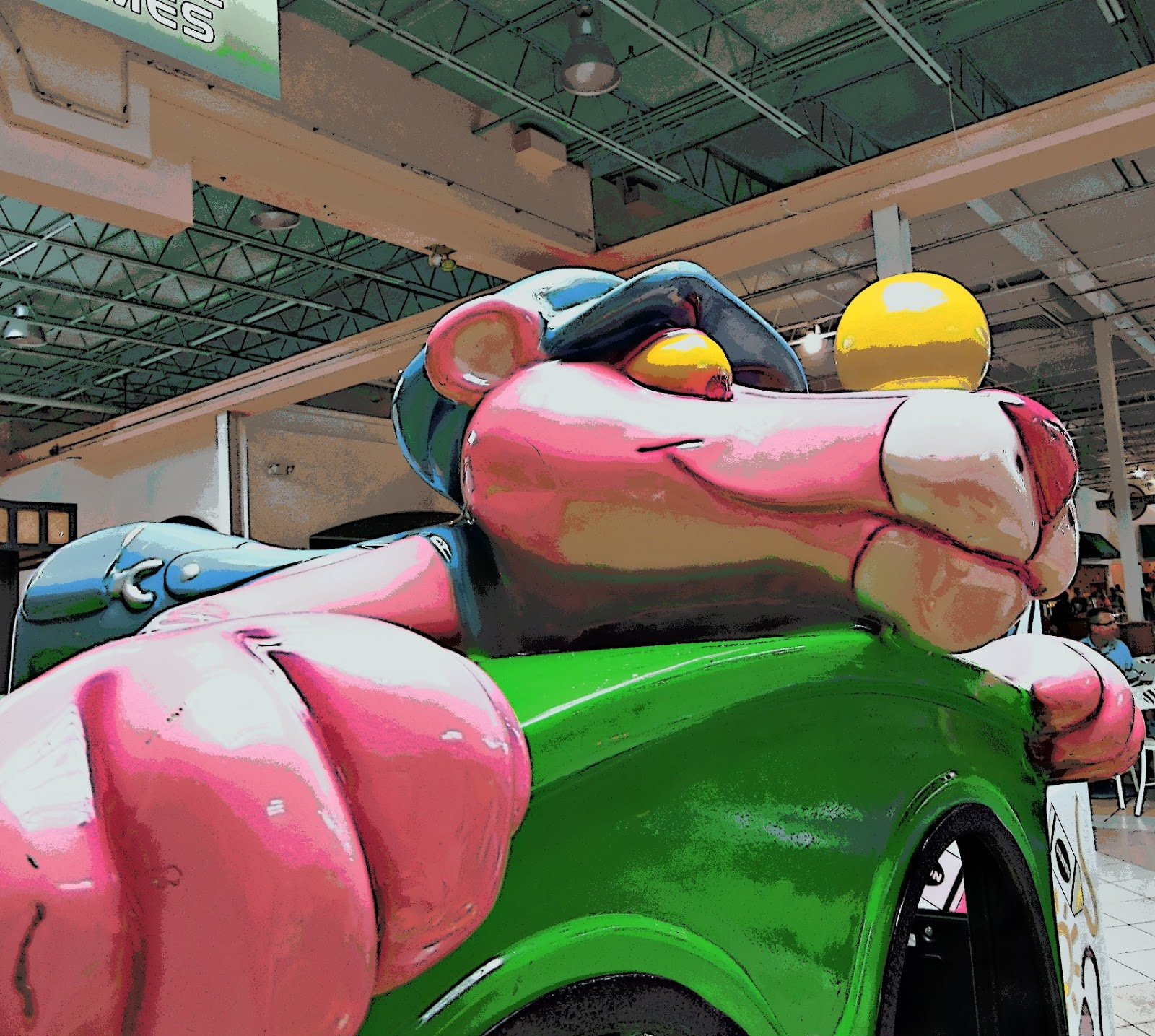 Mad Snapper Pink Panther At The Mall