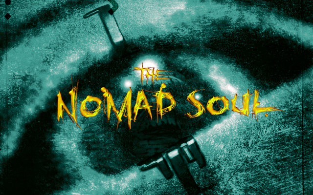 Omikron The Nomad Soul title logo pc