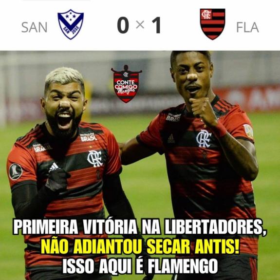 Após Vitória Do Flamengo Na Libertadores Torcida Quebra A