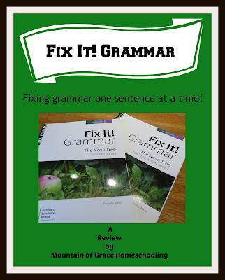 IEW Review~ Fix It! Grammar