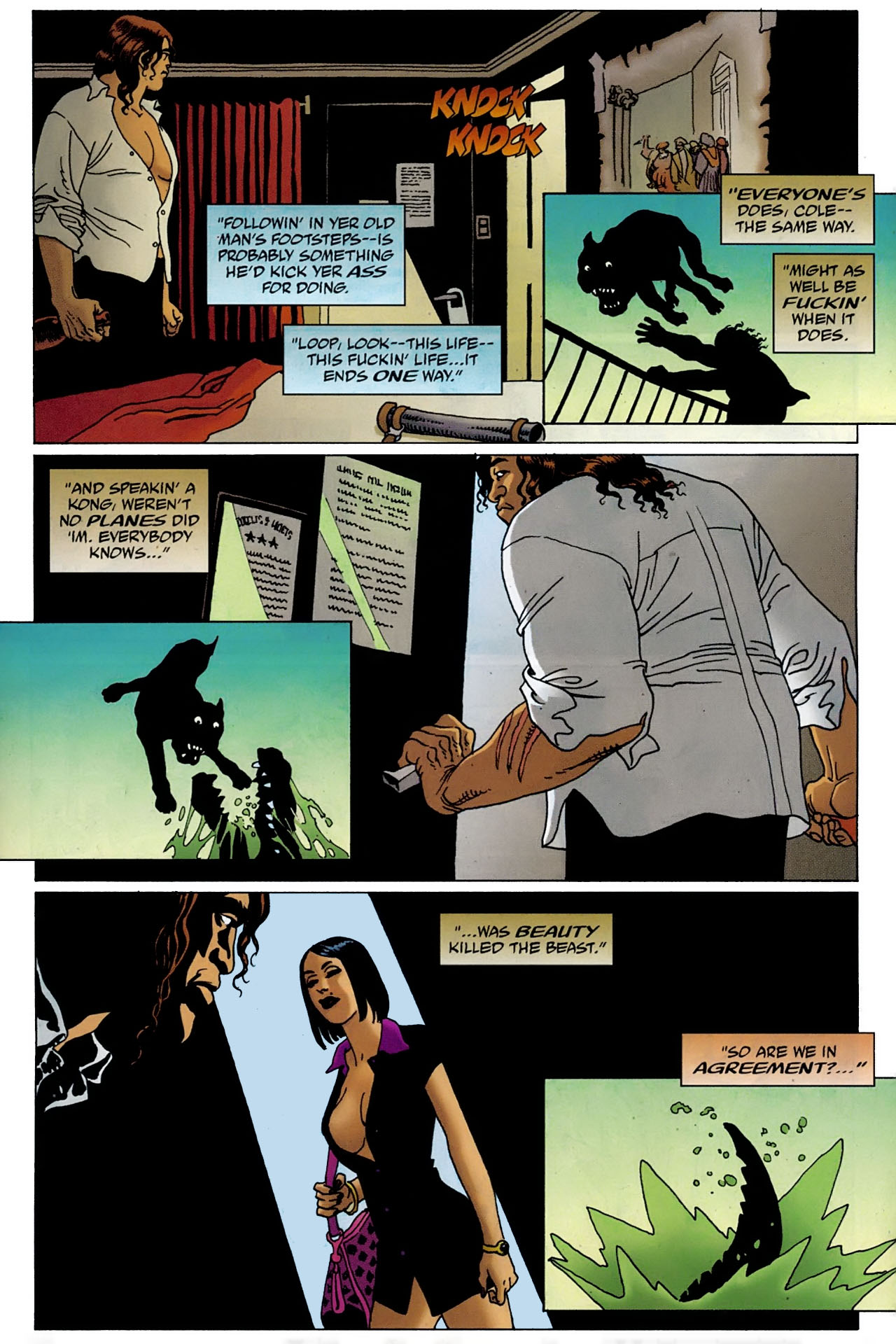 Read online 100 Bullets comic -  Issue #97 - 18