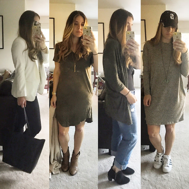 4 outfits from my week
