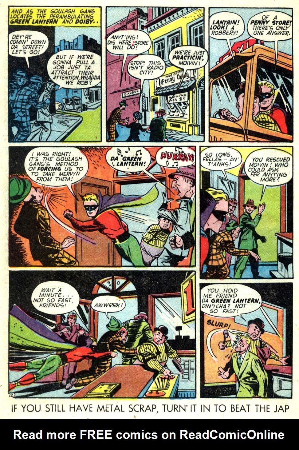 Read online All-American Comics (1939) comic -  Issue #58 - 13