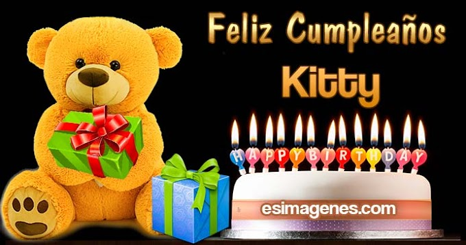 Feliz Cumpleaños Kitty