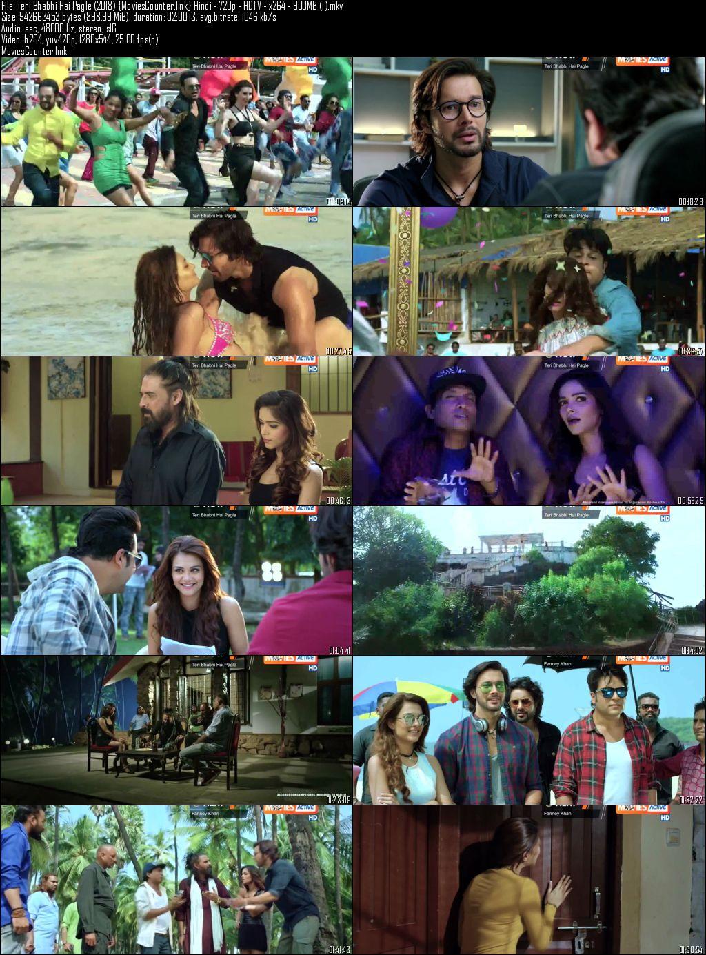 Screen Shots Teri Bhabhi Hai Pagle 2018 Hindi HD 720p