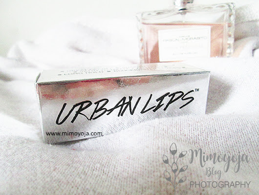 Review Lipstick Urban Lips from Beauty Box - Shade 201 Brooklyn