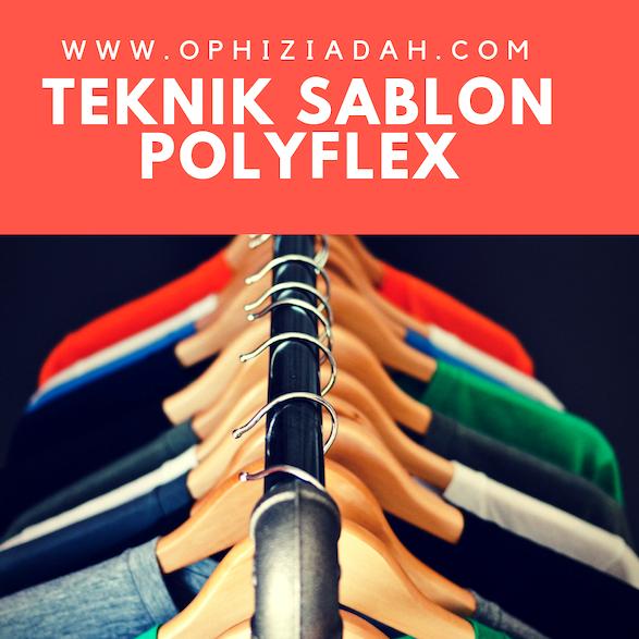 Mau Sablon Kaos Pakai Teknik Polyflex? Kenali Dulu Kelebihan dan Kekuranganya
