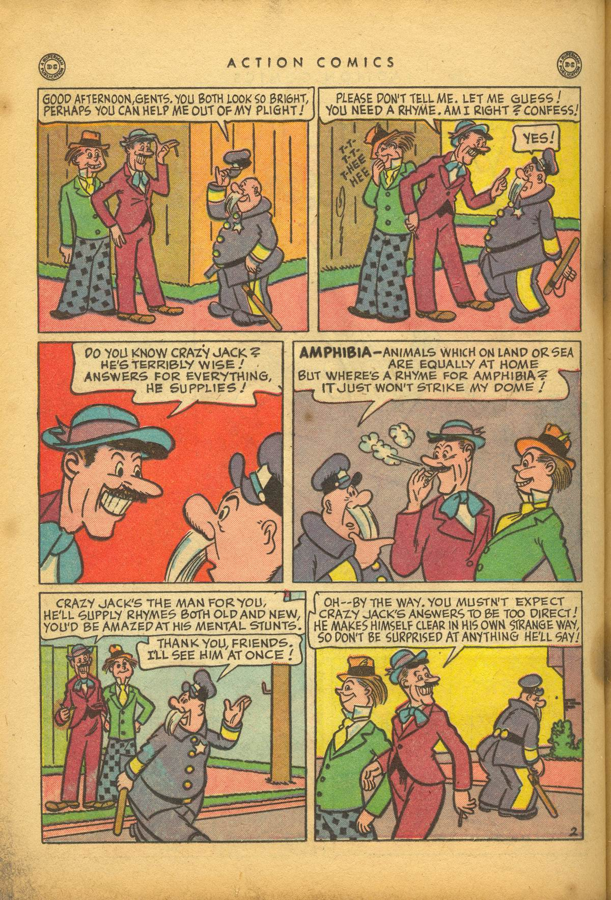 Read online Action Comics (1938) comic -  Issue #112 - 36