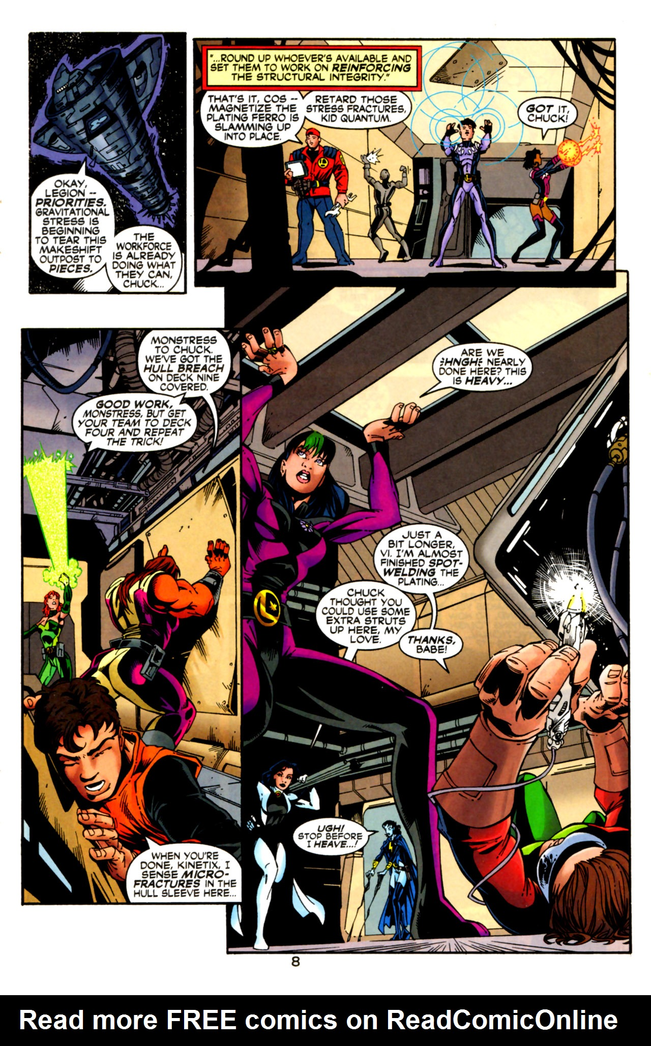 Legion of Super-Heroes (1989) 125 Page 8