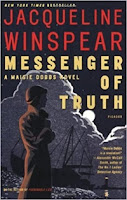 Messenger of Truth by Jacqueline Winspear (Book cover)