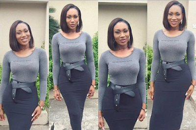 Ebube Nwagbo show out her Curves