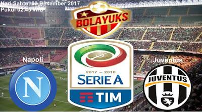Prediksi Bolayuks: Napoli vs Juventus, 02 Desember 2017