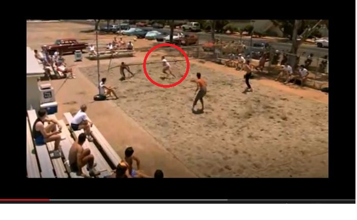 meet the fockers volleyball scene from topgun