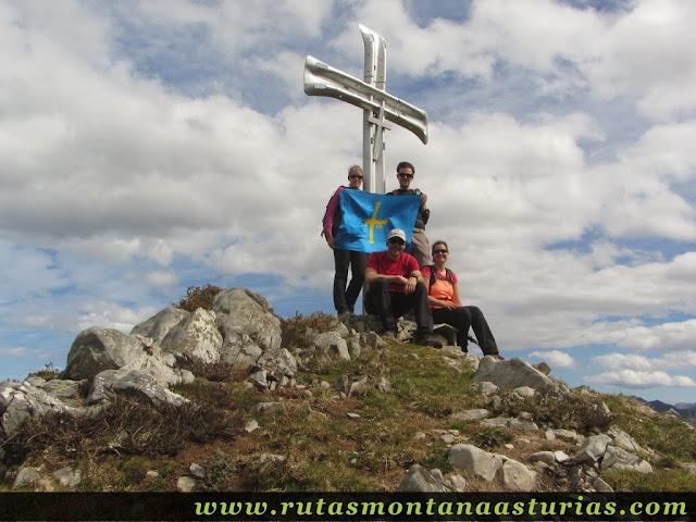 Cima del Pico Moru