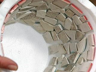 Materiales para realizar un macetero de hormigón o piedra