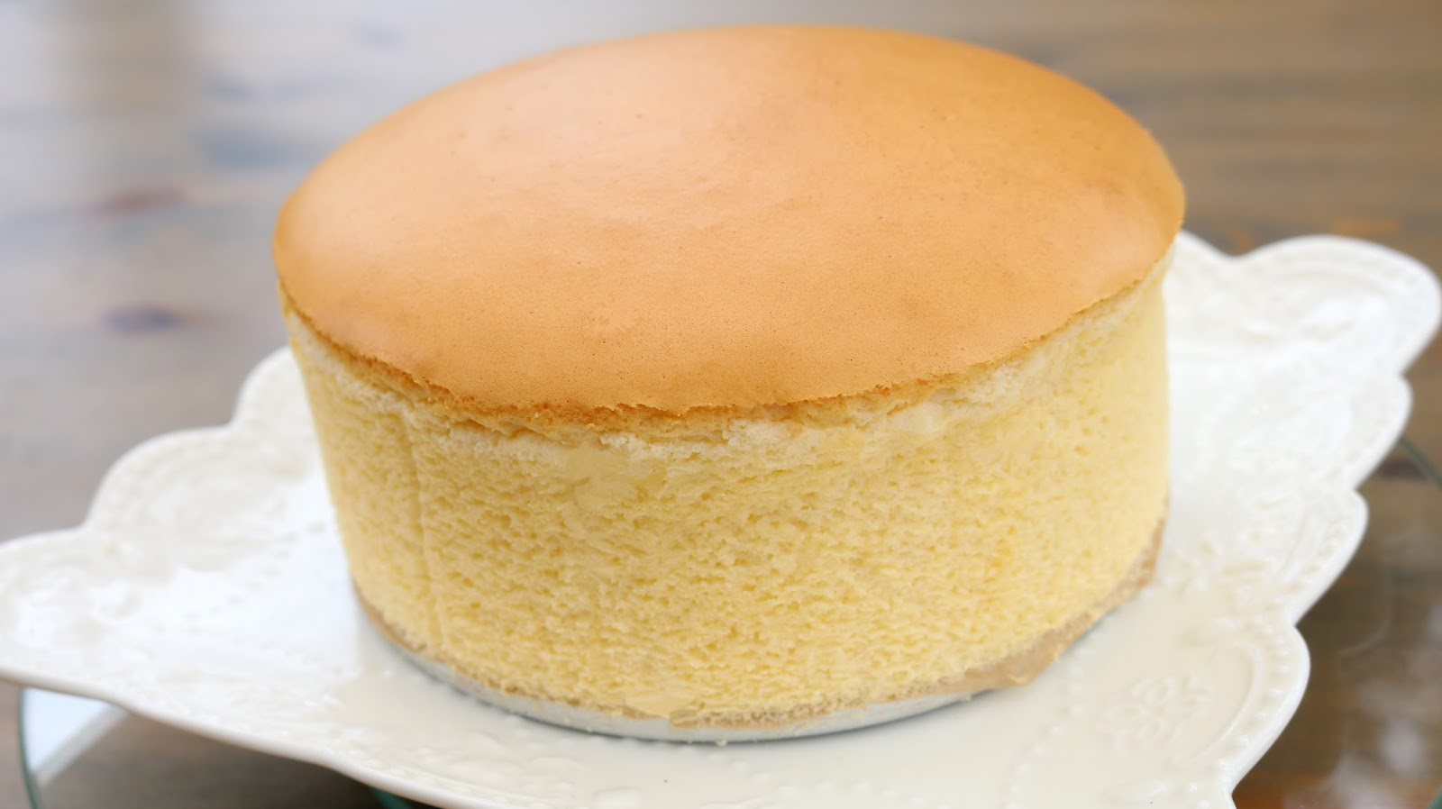 Japanese Sponge Cake Recipe Youtube: Josephine's Recipes : Fluffy Japanese Cheesecake
