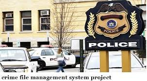 Online Crime file Management