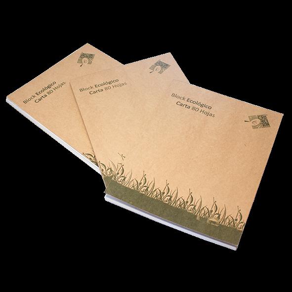 Block y Cuaderno Ecológico