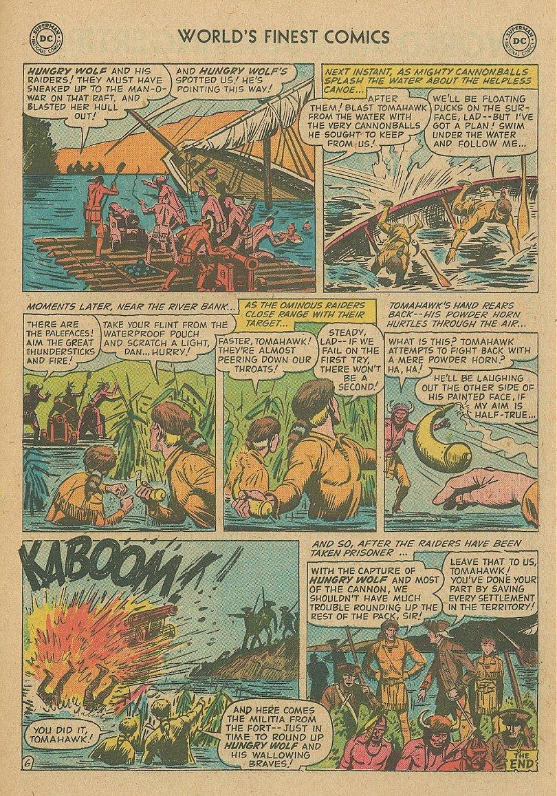 Read online World's Finest Comics comic -  Issue #92 - 33