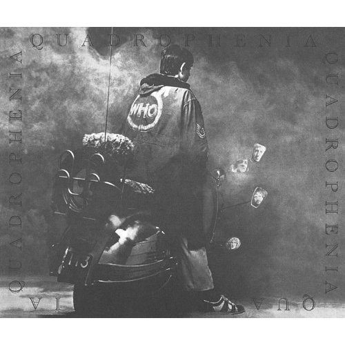 Quadrophenia is the sixth studio album by the English rock band The Who, released on 26 October 1973 by Track Records. It is a double album and the group's second rock opera. The story follows a young mod named Jimmy and his search for self-worth and importance, set in London and Brighton in 1965. It is the only Who album to be entirely composed by Pete Townshend.