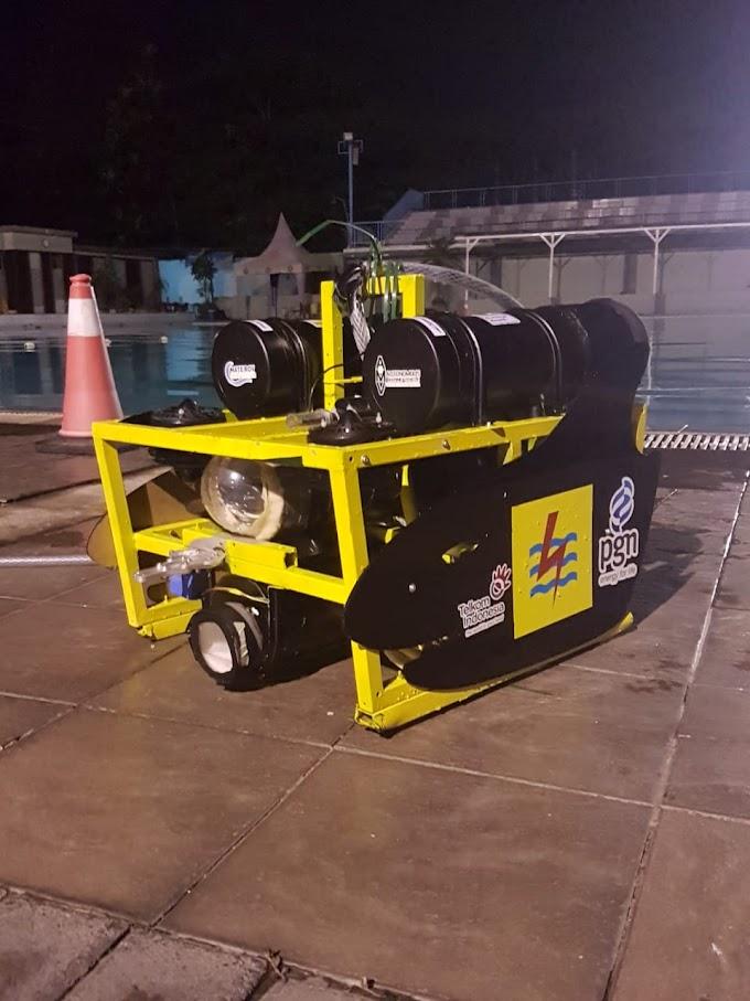 Mahasiswa UI Ciptakan Robot Bawah Laut