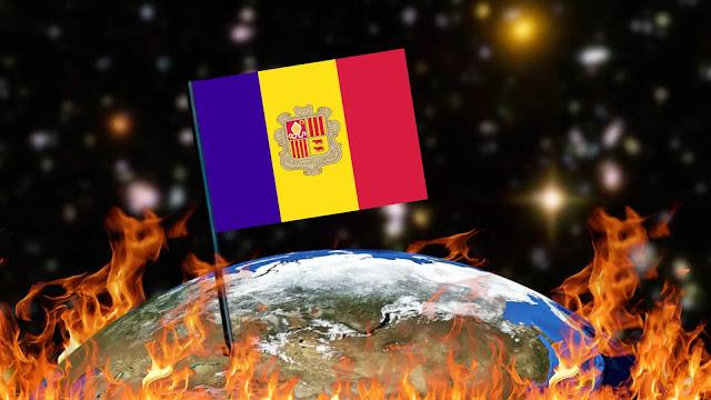 Queimando Bandeiras - Andorra