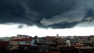 Chuvas passageiras são esperadas no Litoral da Paraíba no fim de semana
