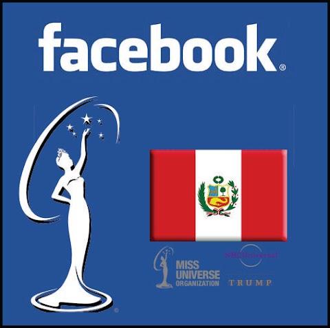 Este es el Facebook Oficial de Miss Universe Perú