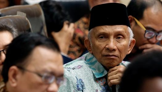 Amien Rais Tak Diberi Jatah Berpidato di Sidang Tanwir