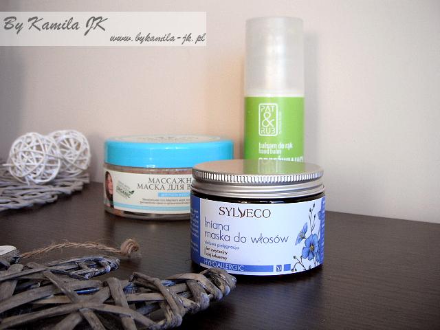 naturalna maska do włosów lniana Sylveco