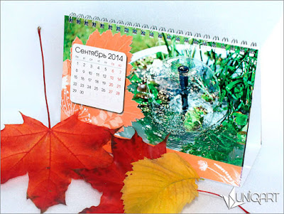 полиграфические изделия, изготовление календарей на заказ