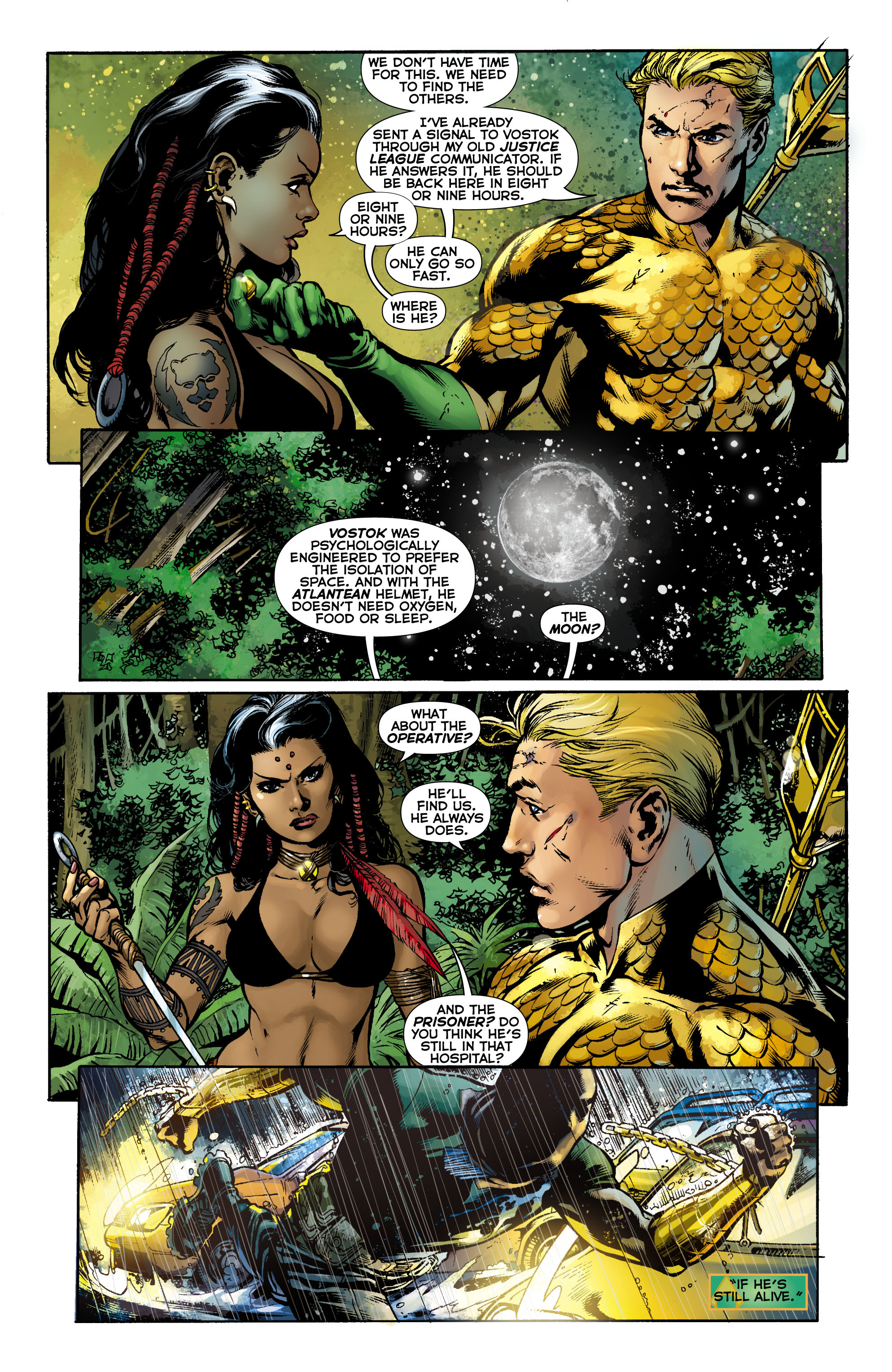 Read online Aquaman (2011) comic -  Issue #9 - 15