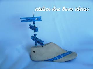 forma de sapatos