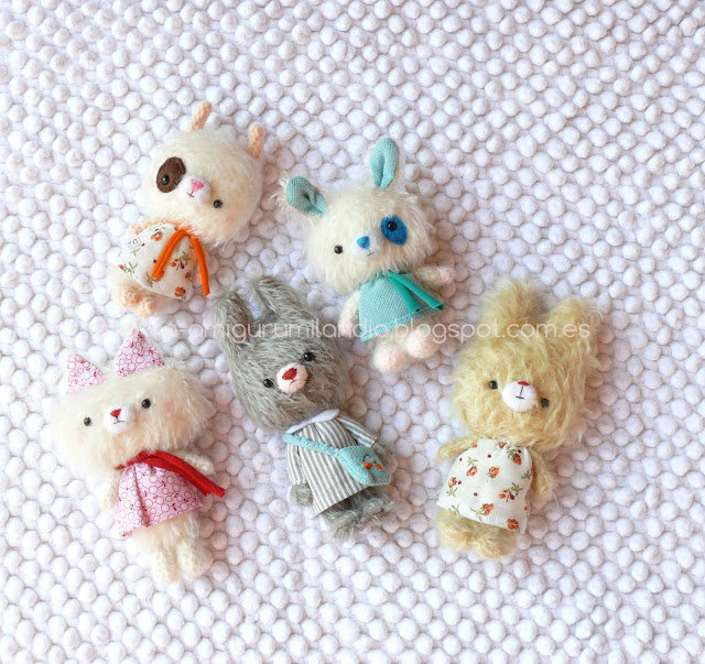 handmade mohair dolls collection