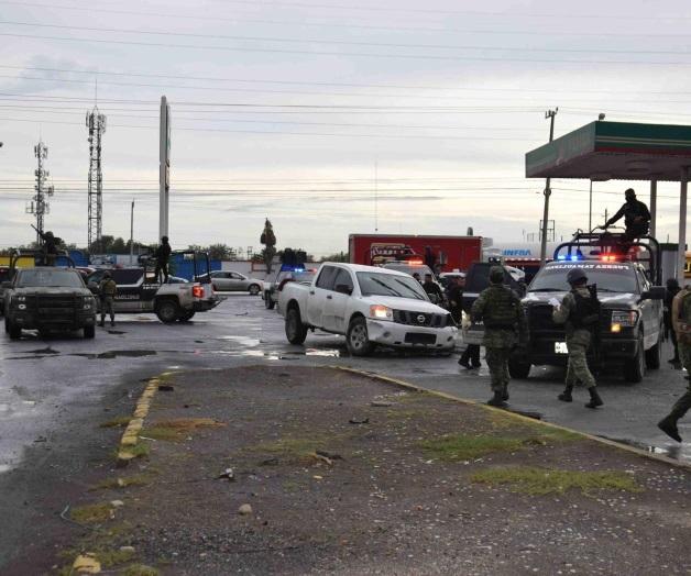 Reynosa; Balas perdidas en enfrentamiento entre elementos de Fuerza Tamaulipas y Sicarios dan a 2 civiles