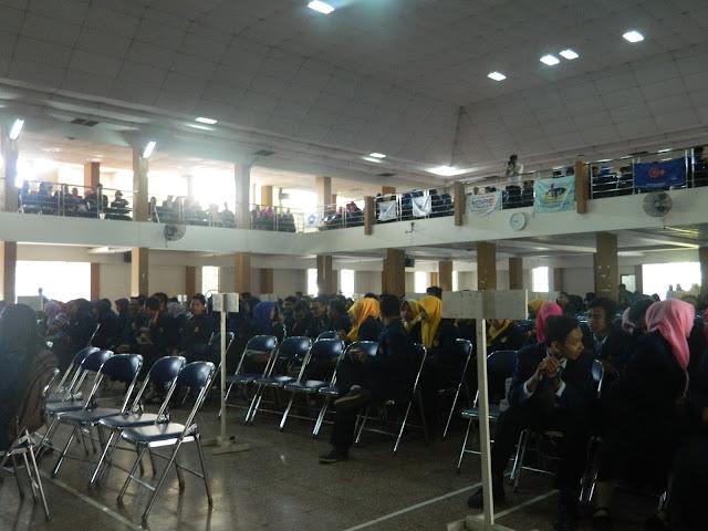 Pesan Rektor pada Pelantikan Bersama Lembaga Mahasiswa