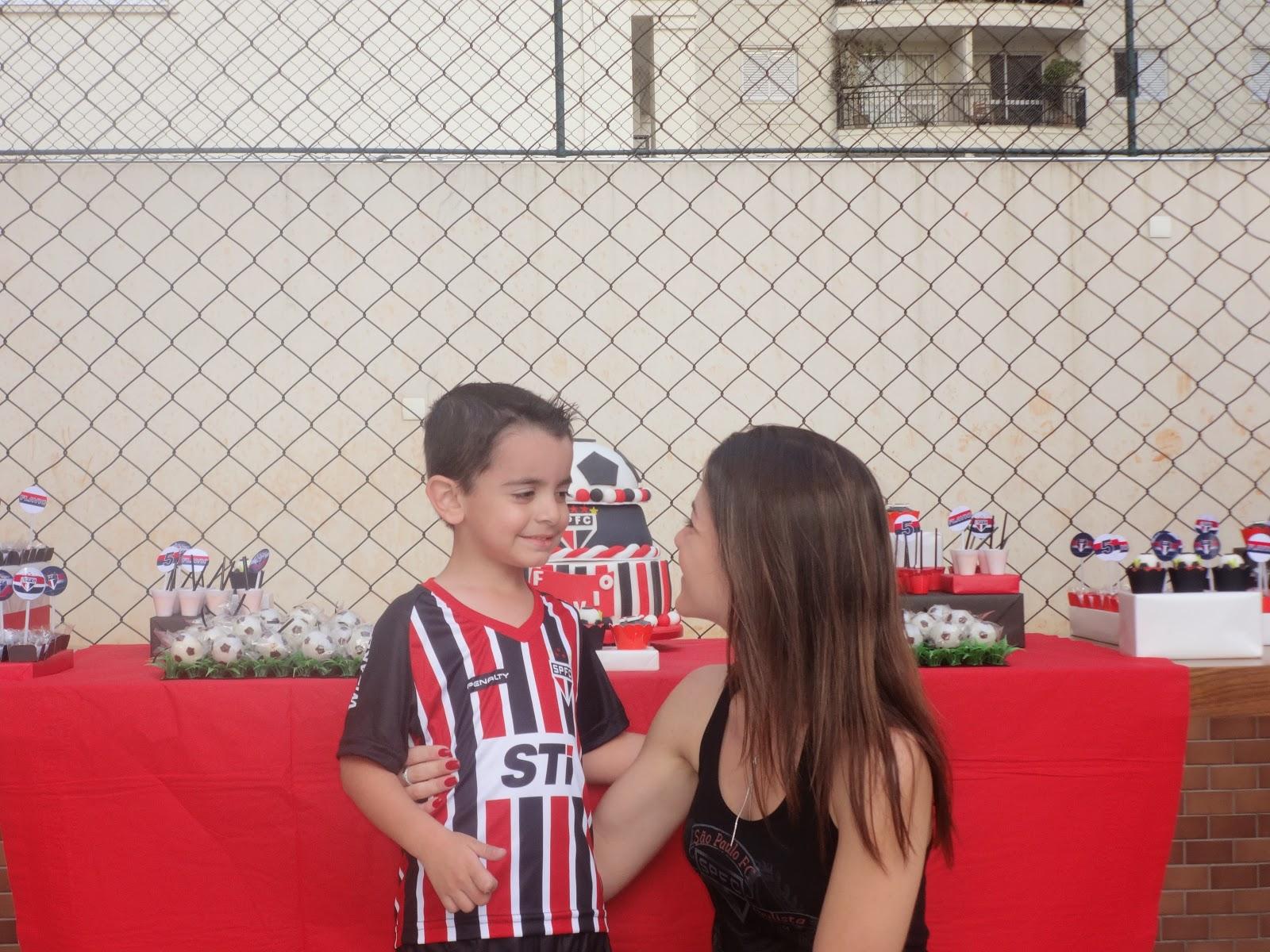 Mãe Sem Frescura - Dicas para Aniversário de 5 anos - Tema Futebol (São Paulo)