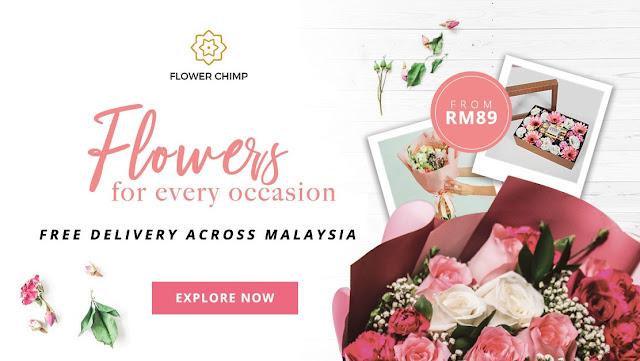 Flower Chimp Malaysia | Tempahan Dalam Talian dan Penghantaran Secara Percuma