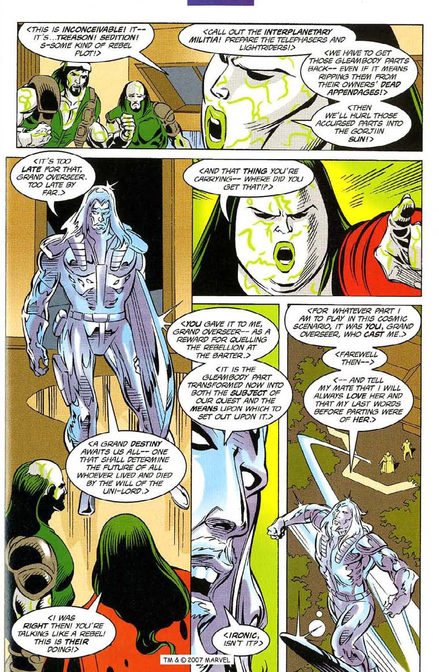 Read online Silver Surfer (1987) comic -  Issue #116 - 25