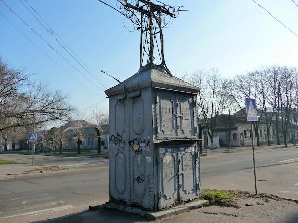 Николаев. Трансформаторная электроподстанция