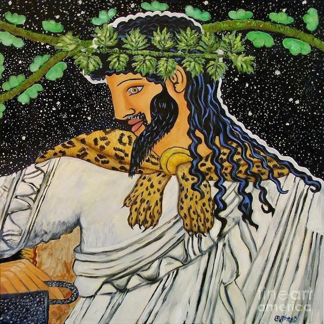 Αποτέλεσμα εικόνας για θεά Δήμητρα και ο θεός Διόνυσος