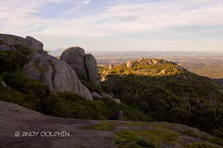 Devils Slide, Porongurup Range, WA. By Andy Dolphin.