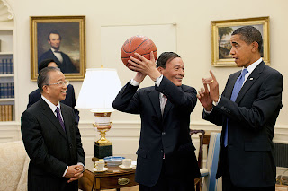 Wang Qishan et Barack Obama