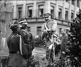 Józef Piłsudski w Warszawie 1929  (nac.gov.pl)